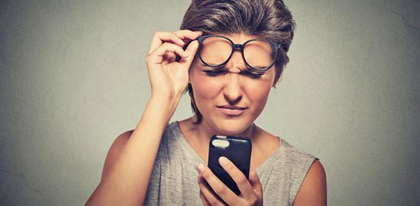 Способы профилактики здоровья глаз при использовании смартфона